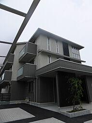 京都府京都市右京区西院久保田町の賃貸アパートの外観