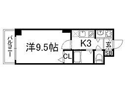 京都ステーションコート[10階]の間取り