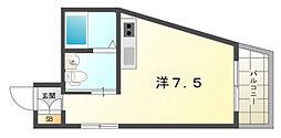 TOMOEマンション[3階]の間取り