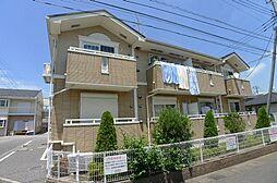 千葉県流山市東深井の賃貸アパートの外観