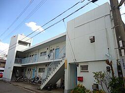 大阪府大阪市阿倍野区阪南町5丁目の賃貸アパートの外観