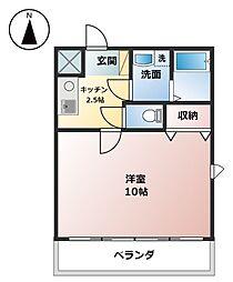 I.S.M II[3階]の間取り