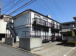 東京都江戸川区松江4丁目の賃貸アパートの外観