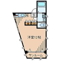 HC白幡[2F号室]の間取り