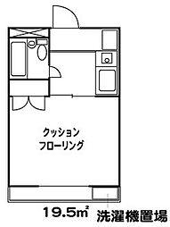 ラブリーメゾン綾瀬[2階]の間取り