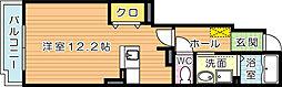 サニープレイス B棟[B103号室]の間取り