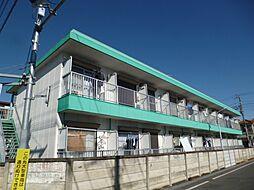 東京都羽村市双葉町2丁目の賃貸マンションの外観