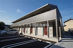 兵庫県姫路市網干区余子浜の賃貸アパートの外観