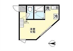 TMレジデンス[2階]の間取り