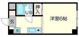 エイトハイム[2階]の間取り