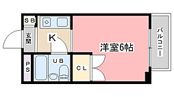 OTOWAマンション[302号室]の間取り