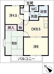 ファミールPit[1階]の間取り