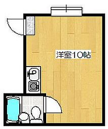 スクエア藤ノ森[3階]の間取り