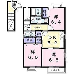 アメニティコートI[2階]の間取り