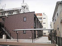 東京都国立市矢川3丁目の賃貸アパートの外観