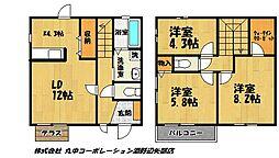 [テラスハウス] 東京都町田市能ヶ谷4丁目 の賃貸【/】の間取り