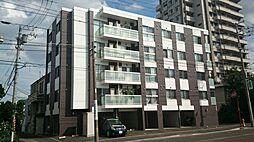 北海道札幌市中央区南十五条西14丁目の賃貸マンションの外観