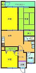 第5共立ビル[8階]の間取り