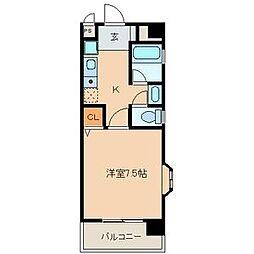 ドエルマルモ303[3D号室]の間取り