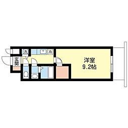 アーデンタワー靭公園[11階]の間取り