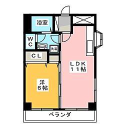 パレスヒルズ21[2階]の間取り
