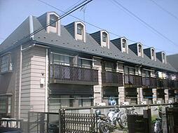 東京都豊島区千早の賃貸アパートの外観