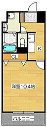 ユースロードヤマサキ[403号室]の間取り