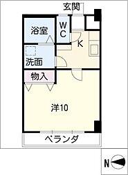 ZUISEI BLD.[4階]の間取り