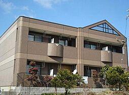 愛知県名古屋市緑区桶狭間南の賃貸アパートの外観