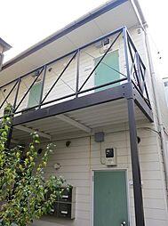 東京都台東区谷中7丁目の賃貸アパートの外観