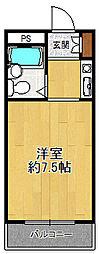 ジョイフル武庫之荘1[1階]の間取り