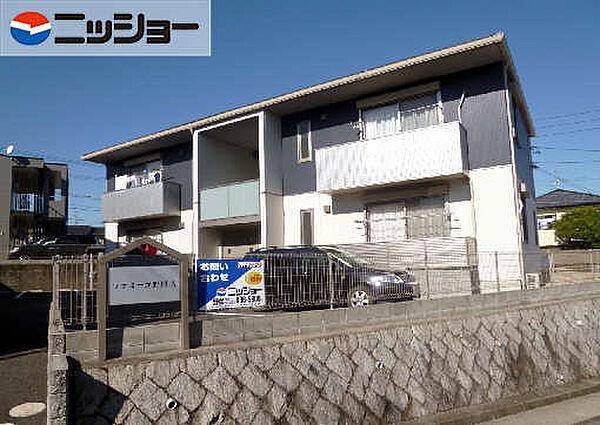 ファミーユ野村 A棟[1階]の外観