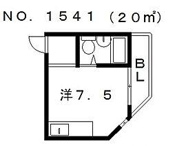 パル天王寺南[4階]の間取り
