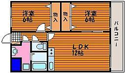 マ・ベル・エトワール[1階]の間取り