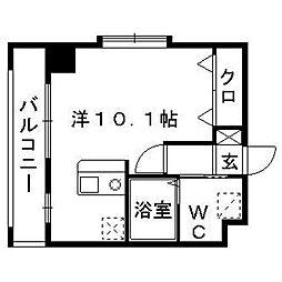 ミリオーネ・シャトウ高砂[6階]の間取り