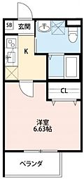 グレース[2階]の間取り
