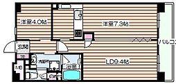 エスリード堂島[11階]の間取り