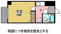愛知県名古屋市千種区川崎町1丁目の賃貸マンションの間取り