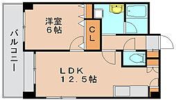 ウィズパーク[4階]の間取り