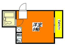 永和・ビル 405号室[4階]の間取り