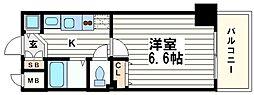 プレサンス中之島公園グラシア[8階]の間取り
