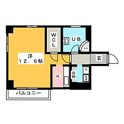 Stad Maison千代田[1階]の間取り