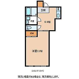 細沢ビル[1階]の間取り