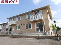三重県亀山市能褒野町の賃貸アパートの外観