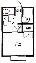 メゾンワカバ[2階]の間取り