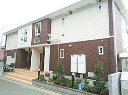 神奈川県茅ヶ崎市下町屋2丁目の賃貸アパートの外観