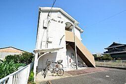 愛知県あま市甚目寺山王の賃貸アパートの外観