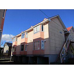 北海道苫小牧市桜木町2丁目の賃貸アパートの外観