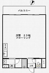 谷本ビル[505号室号室]の間取り