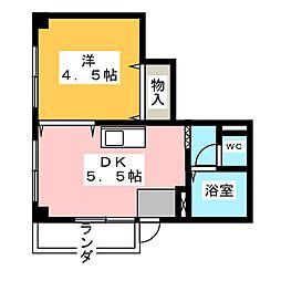 ハーモニアス高蔵寺[3階]の間取り